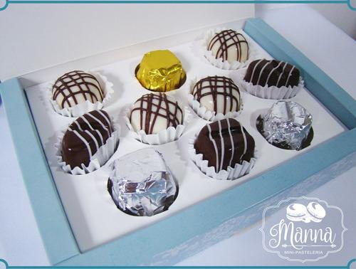 bombones de chocolate rellenos / envíos a todo el país