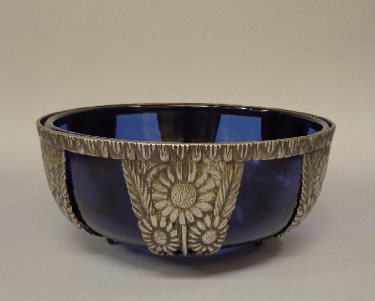 Bomboni re em metal cromado c recipiente de vidro r for Metal cromado