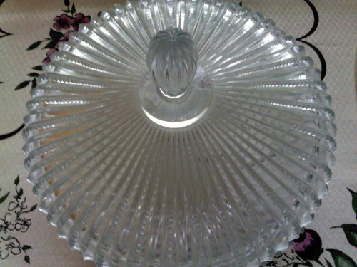 bomboniere em vidro anos 80