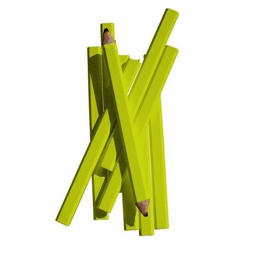 bon 84-842 lápiz de carpintero de 7 pulgadas, plomo medio n