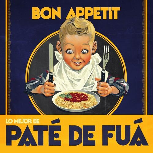 bon appetite - pate de fua disco cd con 19 canciones