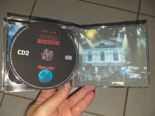 bon jovi cd duplo rock in rio 2017 sbd qualidade a+