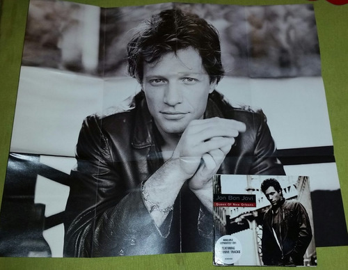 bon jovi queen of new orleans digipack single cd inc poster