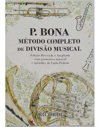 bona método completo para divisão musical