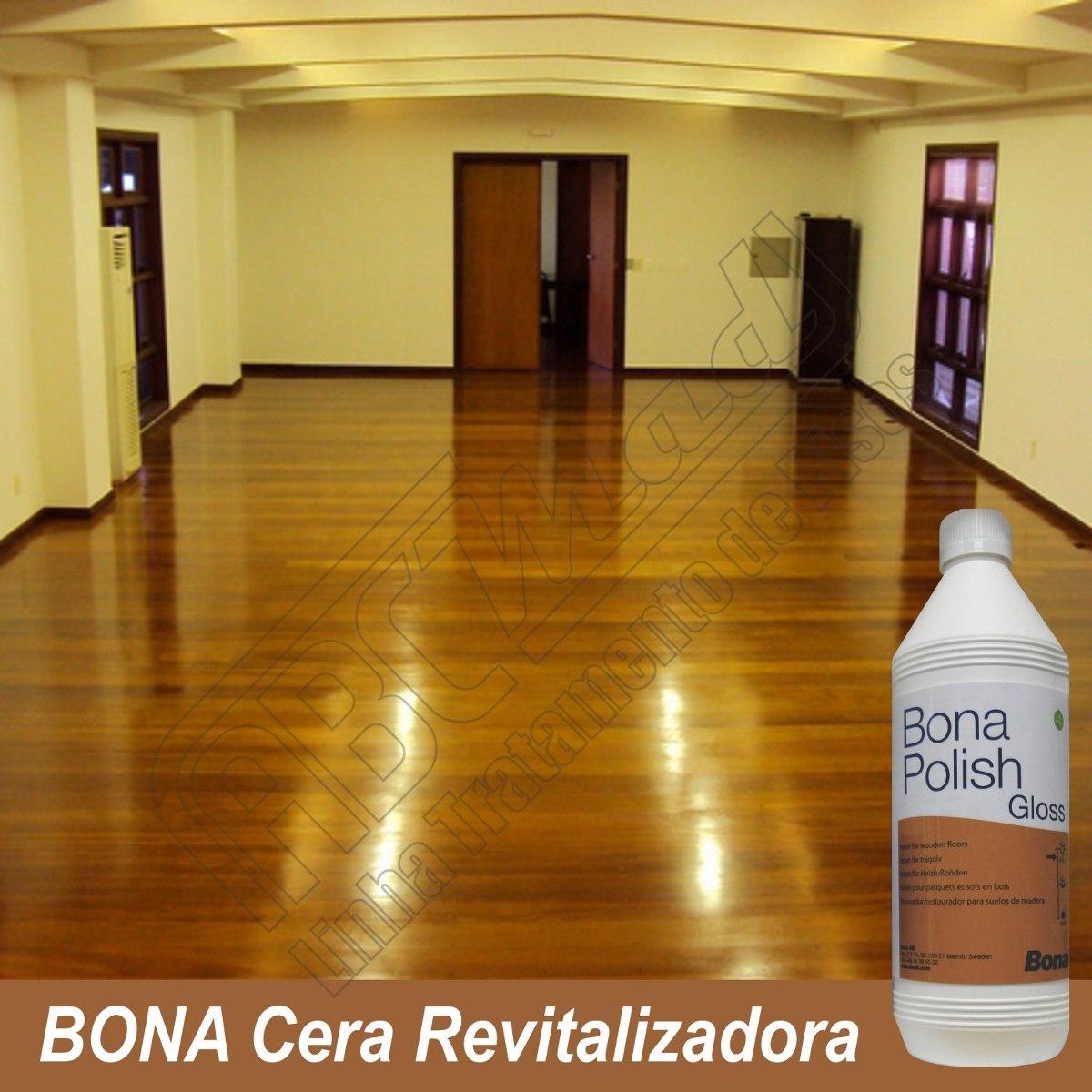 Bona Polish Brilhante Cera Revitaliza Renova Pisos Madeira R$ 105  #7A420A 1200x1200