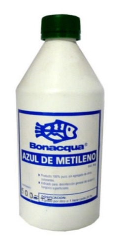 bonacqua azul de mitileno 1000ml desinfectante peces acuario