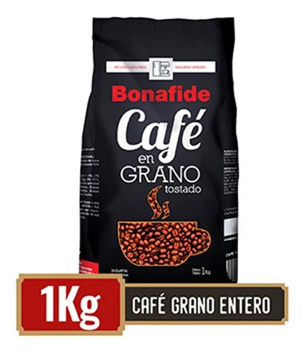 bonafide café en grano entero espresso 1 kg