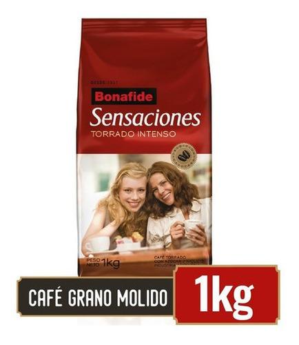 bonafide café en grano molido sensaciones 1kg