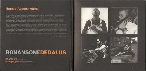 bonansone dedalus nomos apache alpha 2003 jazzrock cd impo**