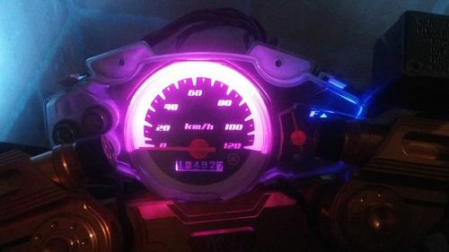 bonbillo cocuyo para moto  carro en color rojo  rosadofucsia