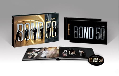 bond 50: the complete 22 film collection en dvd (originales)