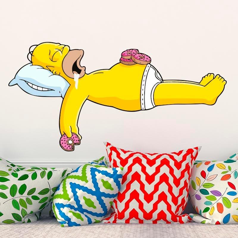 Bondai Vinilo Decorativo Infantil Homero Simpson Dibujo 2 1249