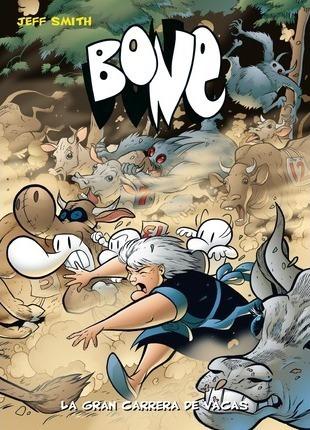 bone 2 bolsillo gran carrera vacas, jeff smith, astiberri