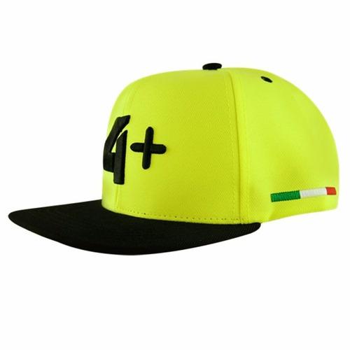 boné 4+ verde com aba preta original