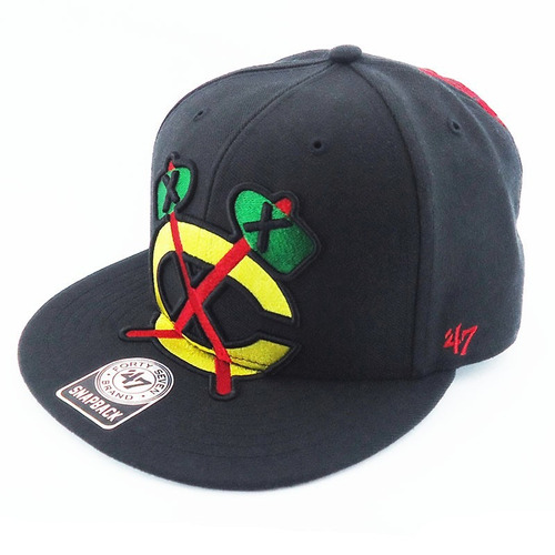 boné 47 brand nhl blackhawks skate out