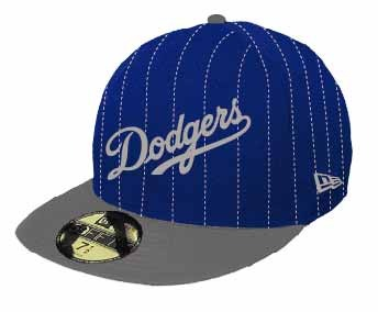 ab85312b046ea Bone 5950 Los Angeles Dodgers Mlb Aba Reta Azul New Era - R  109