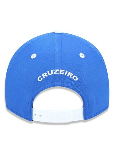 Bone 940 Cruzeiro Futebol Aba Curva Snapback Azul New Era - R  99 d3f39fe8b6e