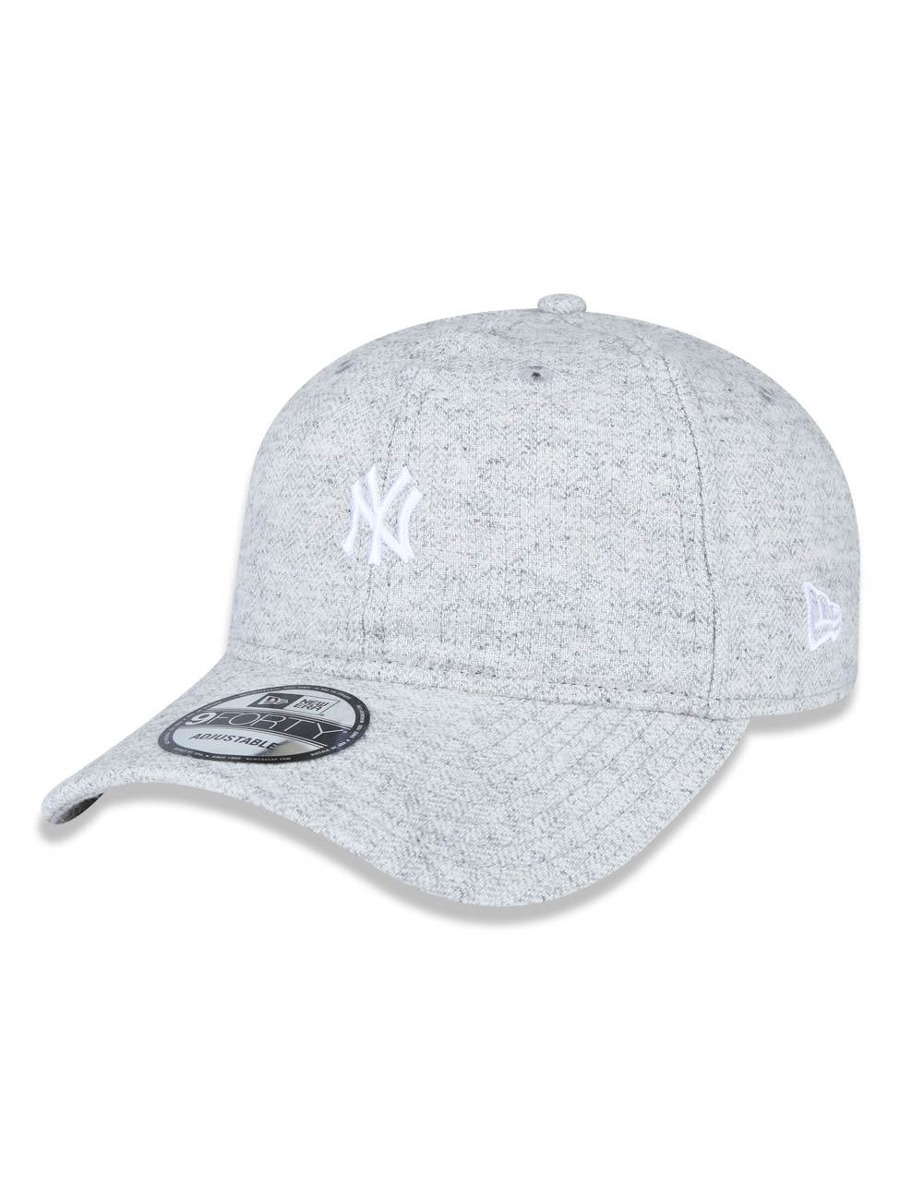f58003729e6fe Bone 940 New York Yankees Mlb Aba Curva Mescla Cinza New Era - R ...