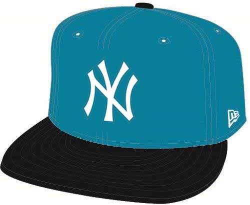 Bone 950 New York Yankees Mlb Aba Reta Azul New Era - R  159 be111c5bfcb