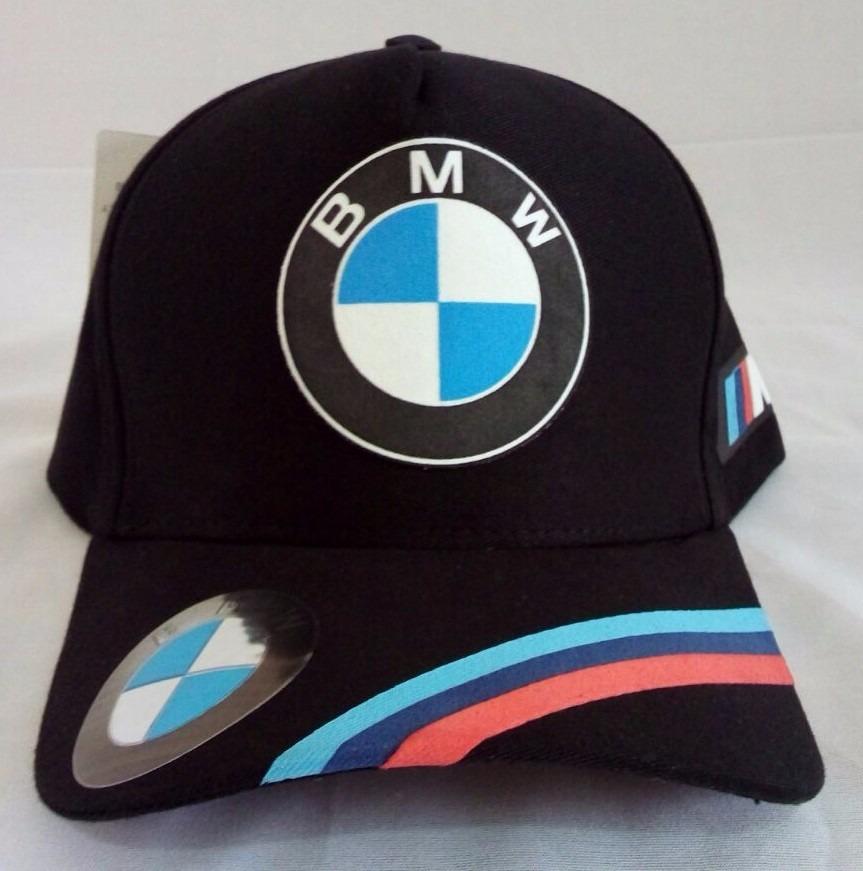 d494ed875c7b9 bone aba curva bmw strapback preto motorsport. Carregando zoom.