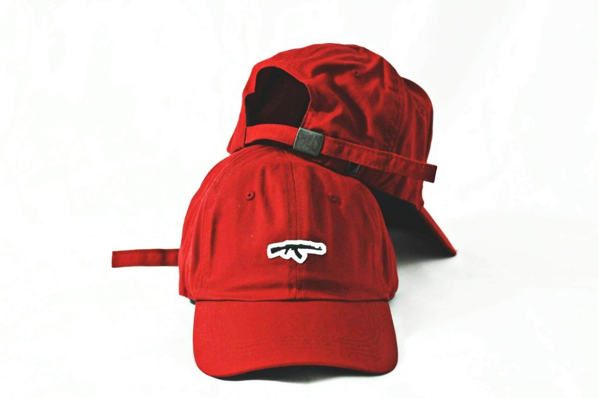 Boné Aba Curva Dad Hat Gun Fita Ak47 - R  59 05b5e67a6c19