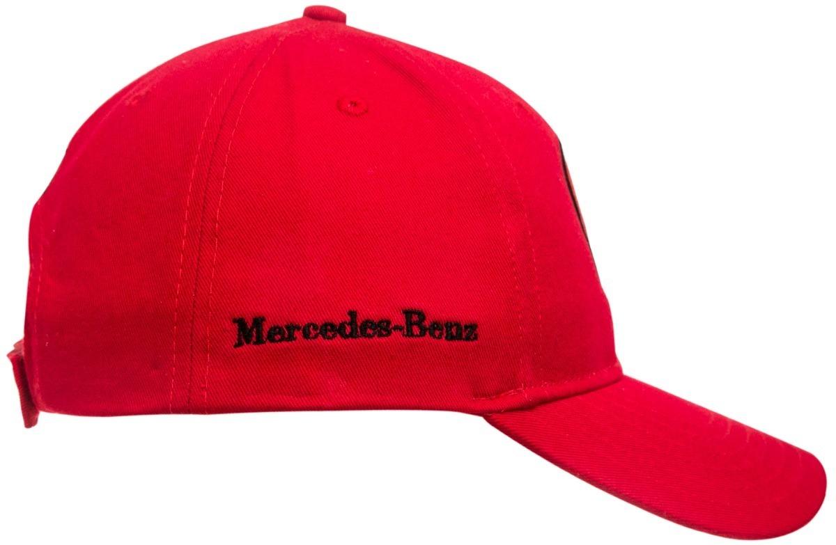 d46b14106821d boné aba curva mercedes benz regulável brim vermelho. Carregando zoom.