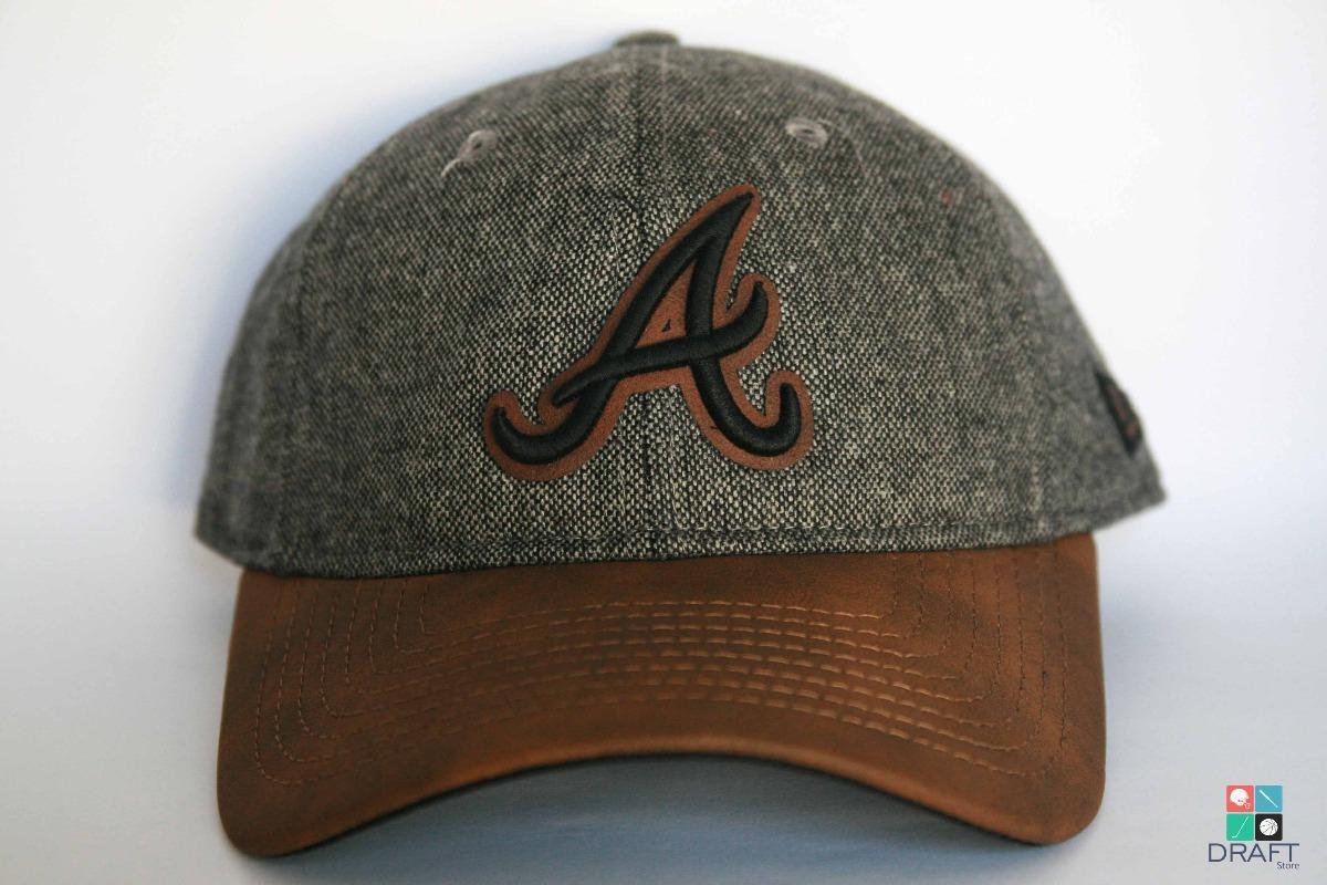 3f24d18e5ef74 boné aba curva mlb atlanta braves new era baseball original. Carregando  zoom.