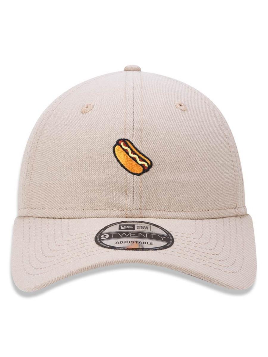 boné aba curva new era 920 hot dog branded bege ajustável. Carregando zoom. 8b86aa24cba