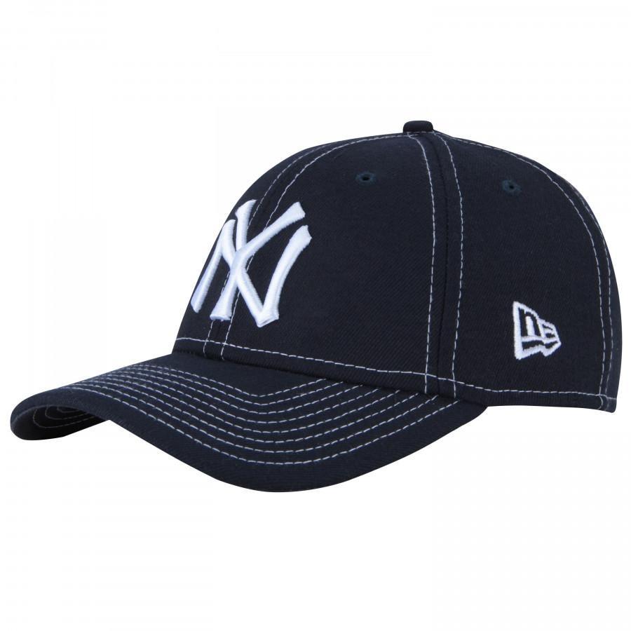 boné aba curva new era 940 new york yankees mini logo. Carregando zoom. 9c1ca4c6d12be
