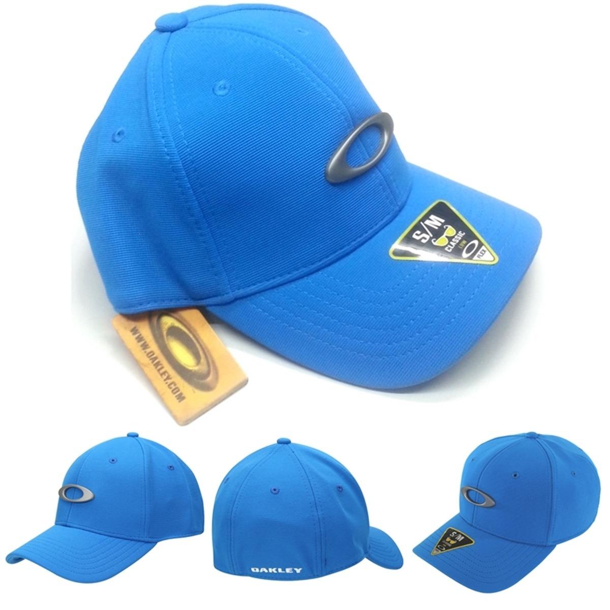 1820e71817bb5 Boné Aba Curva Oakley Tican Cap Azul Bebe Por Apena R  99