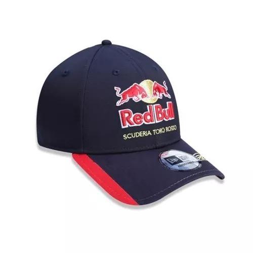 c166bbc4dbead Boné Aba Curva Red Bull Scuderia Toro Rosso Original - R  89