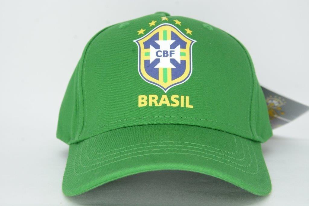boné aba curva seleção brasileira oficial cbf verde top. Carregando zoom. d9c2b8731ec