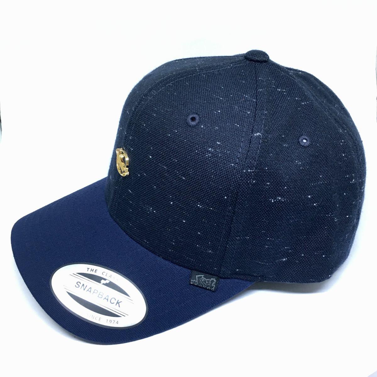 Boné Aba Curva Snapback Speckled Lost - 21716510 Azul Marinh - R ... dab50340d25