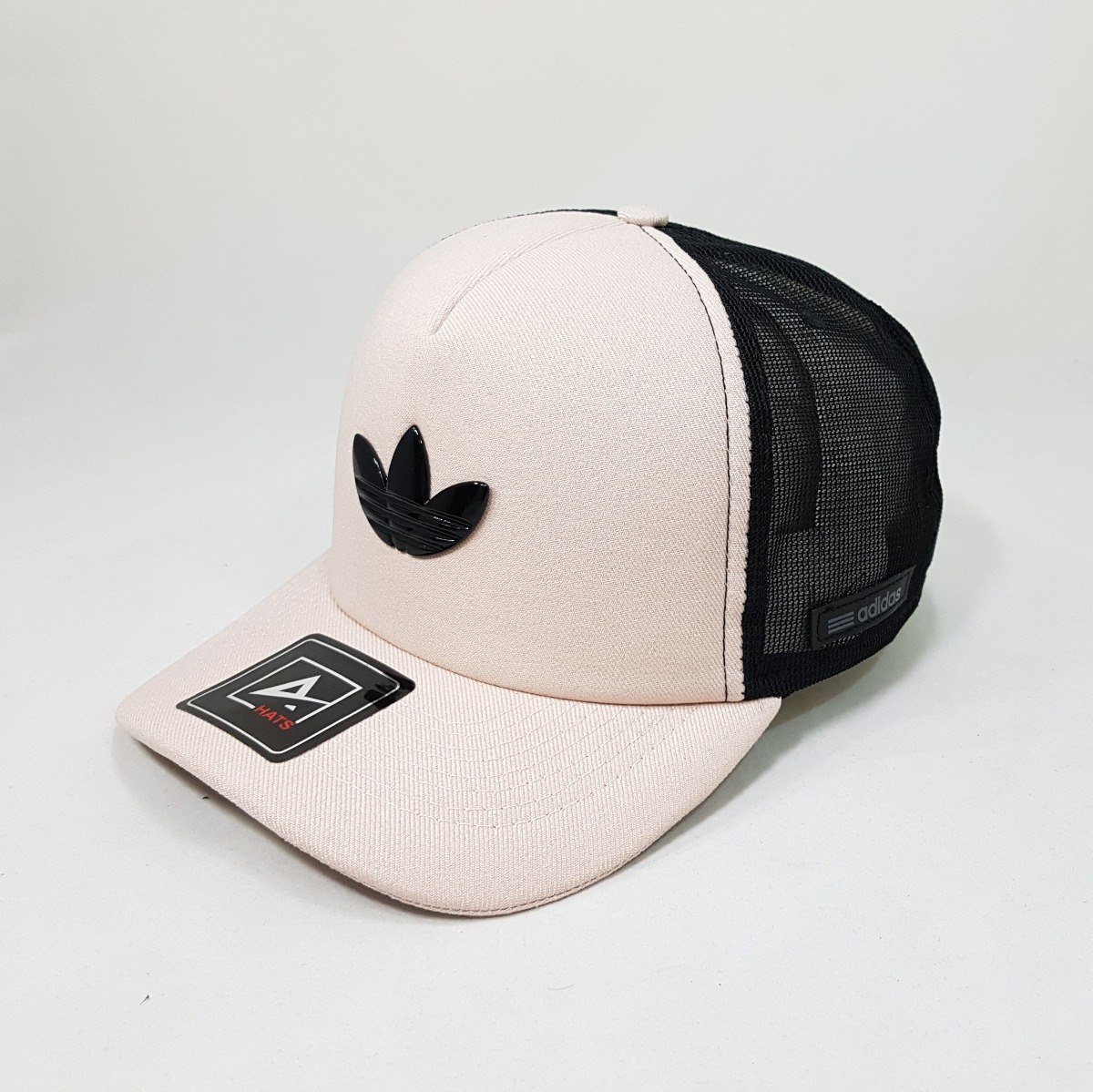 32eff62246 boné aba curva snapback telinha trucker adidas rosa. Carregando zoom.