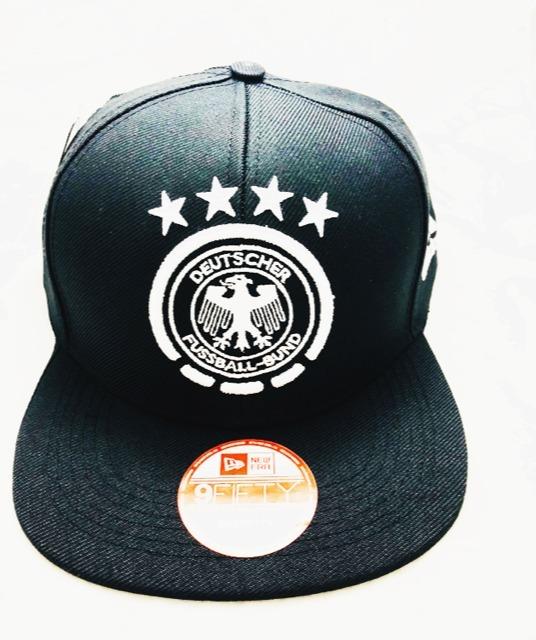 Boné Aba Reta Alemanha Futebol Snapback Pronta Entrega - R  47 d0bbd63e0e490