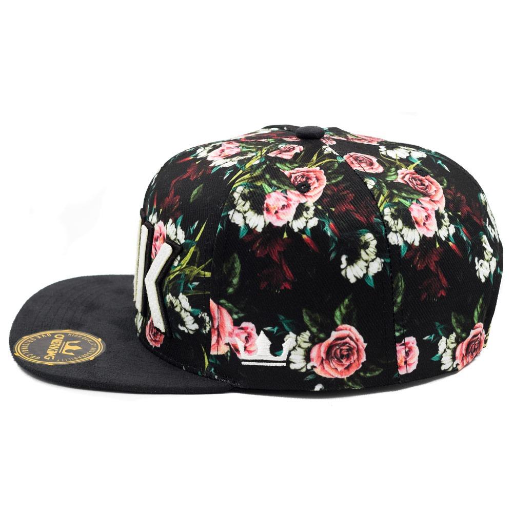 e889632407f0e boné aba reta barato overking snapback floral collection. Carregando zoom.