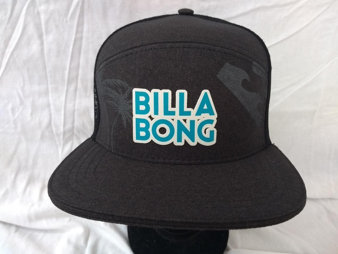 9d9a303fd4 Boné Aba Reta Billabong Rede Redinha Preto - R$ 47,99 em Mercado Livre