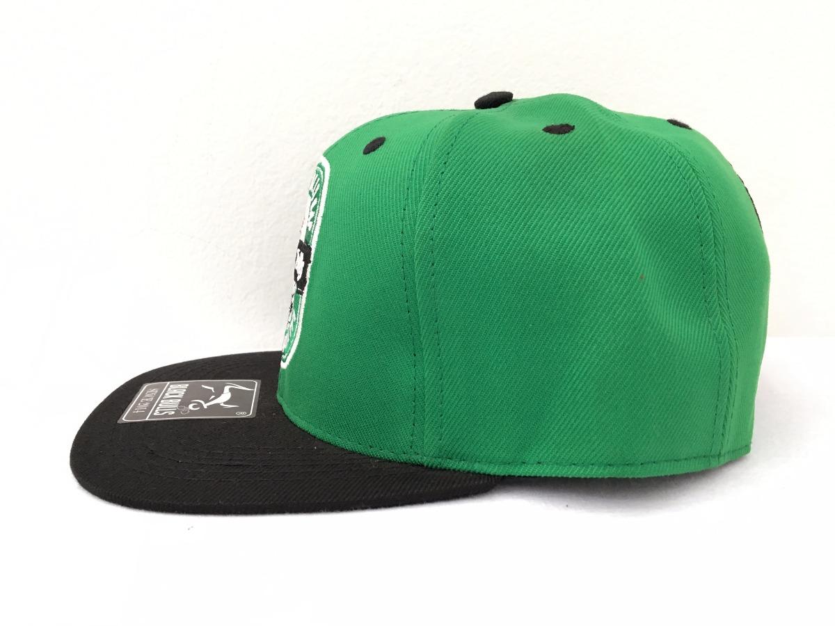 Boné Aba Reta Black Bulls Heineken Verde Snapback Aberto - R  39 26e4925e0ac