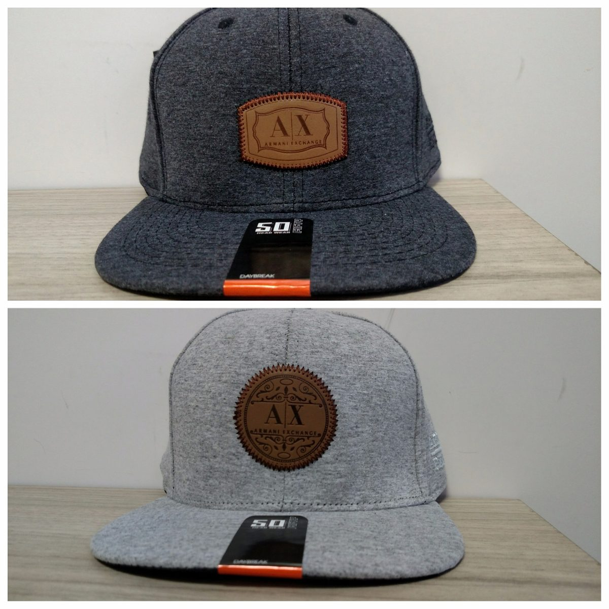 ... boné aba reta fifty armani exchange - head wear fitted cap. Carregando  zoom. eed72c59996091 0fa60e8c30