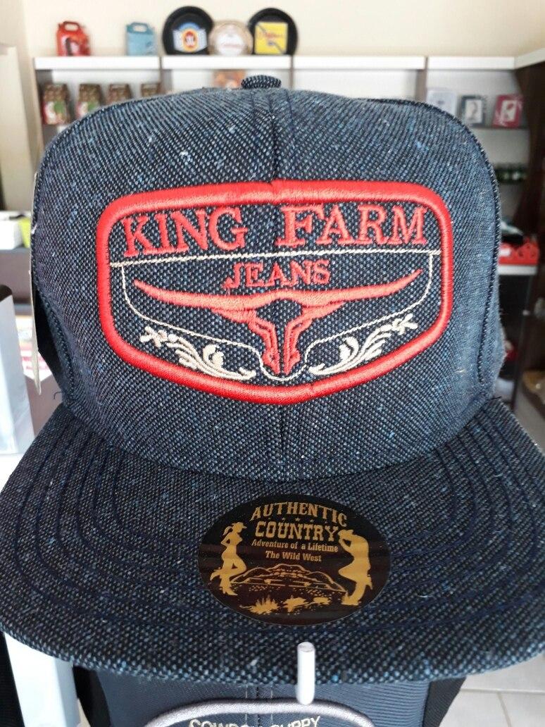59291887e1 Boné Aba Reta King Farm - R$ 59,90 em Mercado Livre
