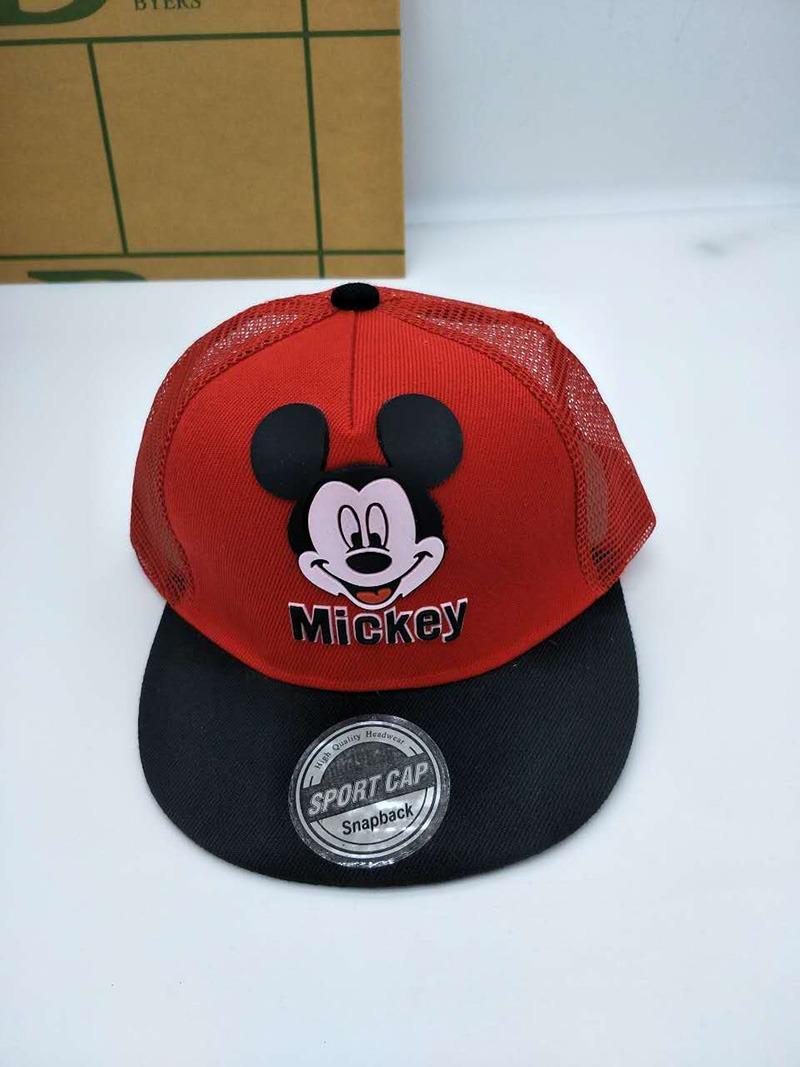 boné aba reta mickey mouse disney infantil touca gorro verão. Carregando  zoom. 7bc35c38ee8