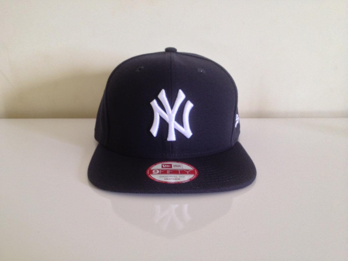 boné aba reta mlb new york yankees básico snapback original. Carregando  zoom. 99475ea2562