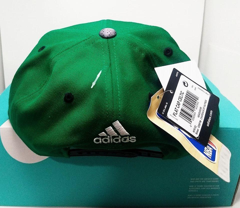 115d27d8eb6b5 boné aba reta nba boston celtics adidas - snapback. Carregando zoom.