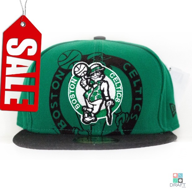 1f1d0ae728b25 Boné Aba Reta Nba Boston Celtics New Era Basquete - R  89