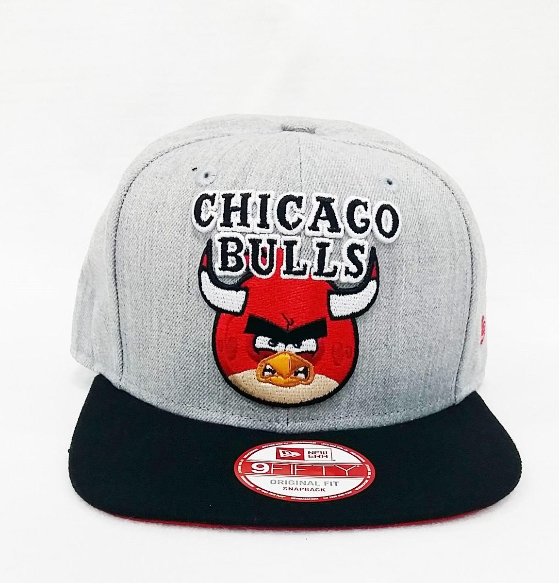 boné aba reta nba chicago bulls snapback angry birds aberto. Carregando  zoom. 39972bacd0d