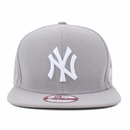 9452dee709720 Boné Aba Reta New Era 9fifty Ny Yankees Cinza Original Fit - R  169 ...
