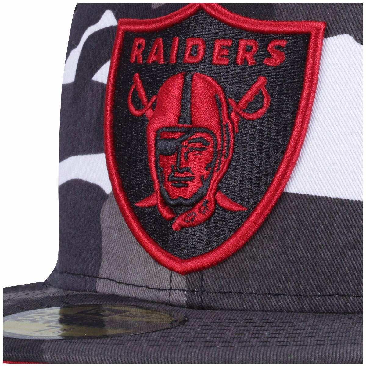 boné aba reta new era oakland raiders - fechado- adulto. Carregando zoom. 2dd1dbe629d
