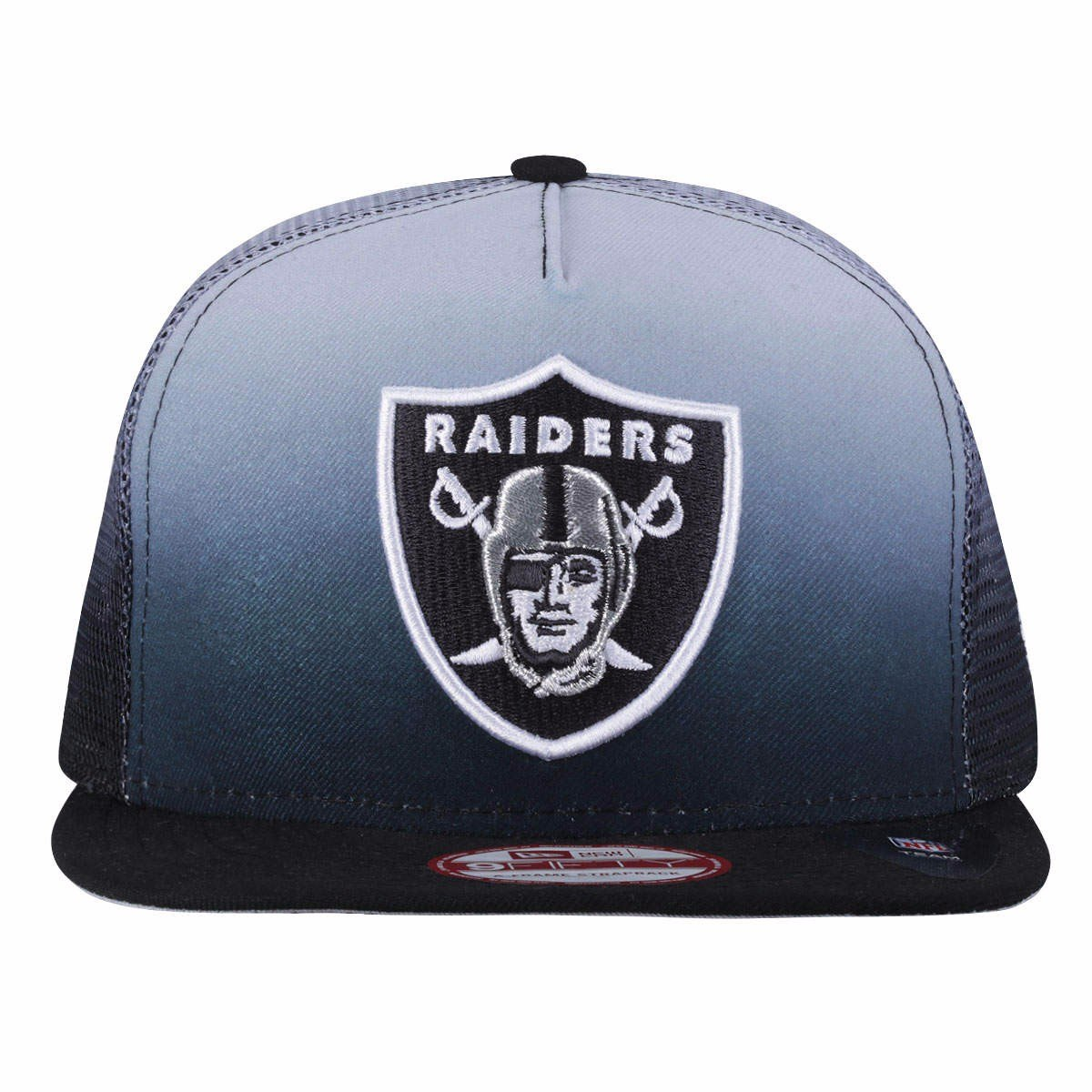 a9c1301e74cfe boné aba reta new era oakland raiders - strapback 9fifty. Carregando zoom.