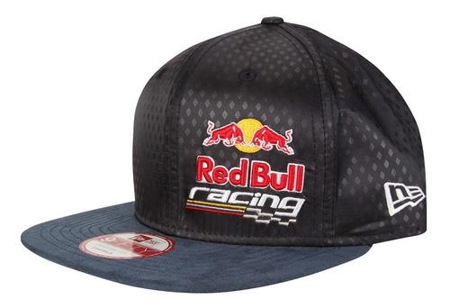 boné aba reta new era red bull racing strapback original fit