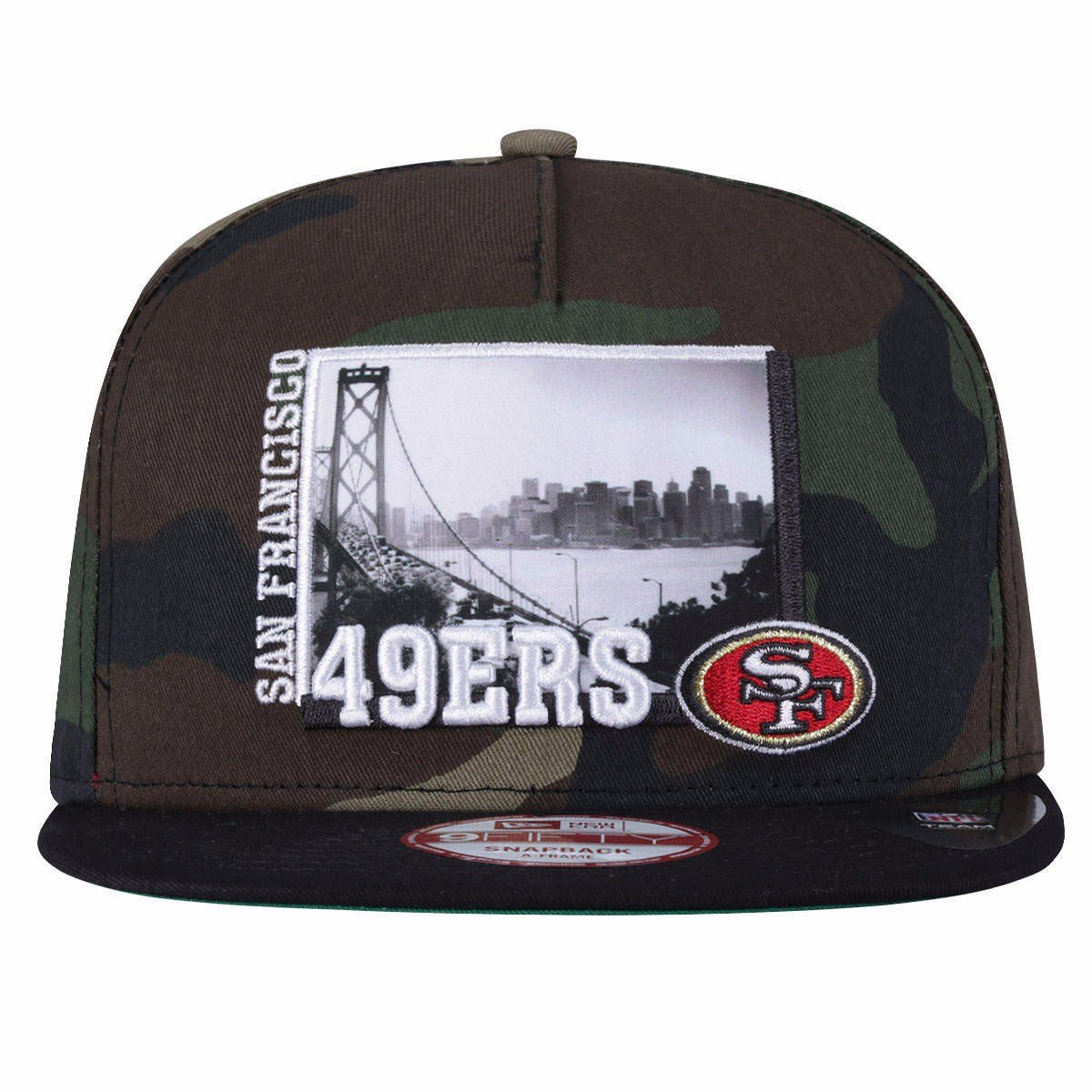 1ac0c291ee98b Boné Aba Reta New Era San Francisco 49ers - Snapback - Adult - R  149